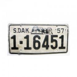 Plaque d Immatriculation USA - South Dakota ( 039 )