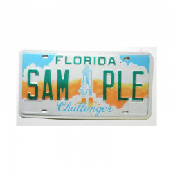Plaque d Immatriculation USA - Florida ( 022 )