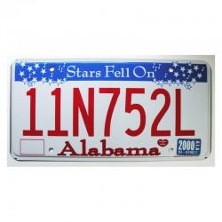 Plaque d Immatriculation USA - Alabama ( 009 )