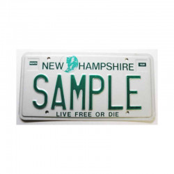 Plaque d Immatriculation USA - New Hampshire ( 006 )