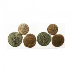 lot de 3 Monnaies Tunisienes en Bronze ( 008 )