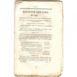 Bulletin des lois Louis Philippe ( 054 )