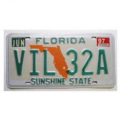 Plaque d Immatriculation USA - Floride ( 095 )