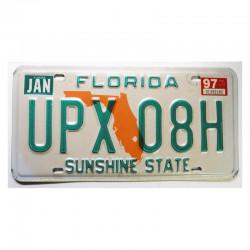 Plaque d Immatriculation USA - Floride ( 093 )