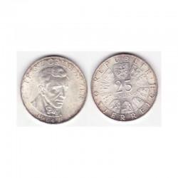 25 Schilling Argent 1964 Autriche ( 001 )