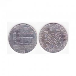 100 Schilling Argent 1979 Autriche ( 001 )