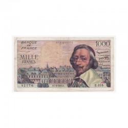 1000 F Richelieu 07/03/1957 TTB + ( 433 )