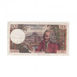 10 Francs Voltaire 07/12/1967 TTB - ( 436 )
