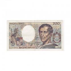 200 Francs Montesquieu 1991 TTB Y088 ( 451 )