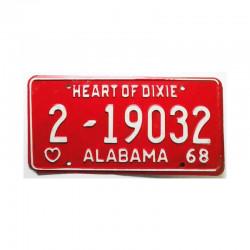 Plaque d Immatriculation USA - Alabama ( 140 )