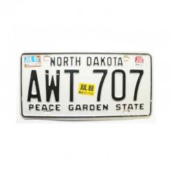Plaque d Immatriculation USA - North Dakota ( 147 )