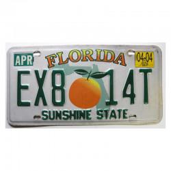 Plaque d Immatriculation USA - Floride ( 149 )