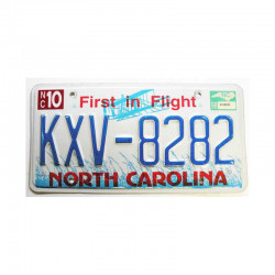 Plaque d Immatriculation USA - North Carolina ( 151 )