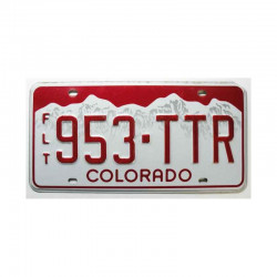 Plaque d Immatriculation USA - Colorado ( 152 )
