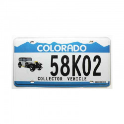 Plaque d Immatriculation USA - Colorado ( 154 )