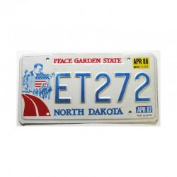 Plaque d Immatriculation USA - North Dakota ( 163 )