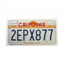 Plaque d Immatriculation USA - California ( 159 )