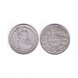 1 Franc suisse Argent 1914 ( 001 )