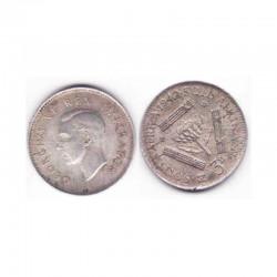 3 Pence Afrique du sud Argent 1942 ( 001 )