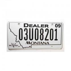 Plaque d Immatriculation USA - Montana ( 204 )