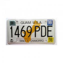Plaque d Immatriculation USA - Guam Isl ( 289 )