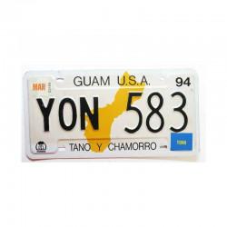 Plaque d Immatriculation USA - Guam Isl ( 285 )