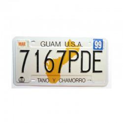 Plaque d Immatriculation USA - Guam Isl ( 284 )