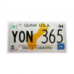 Plaque d Immatriculation USA - Guam Isl ( 260 )