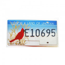 Plaque d Immatriculation USA - Illinois ( 219 )