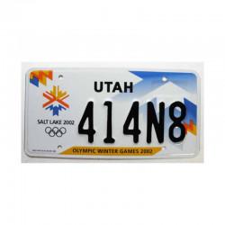 Plaque d Immatriculation USA - Utah ( 528 )