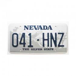 Plaque d Immatriculation USA - Nevada ( 490 )