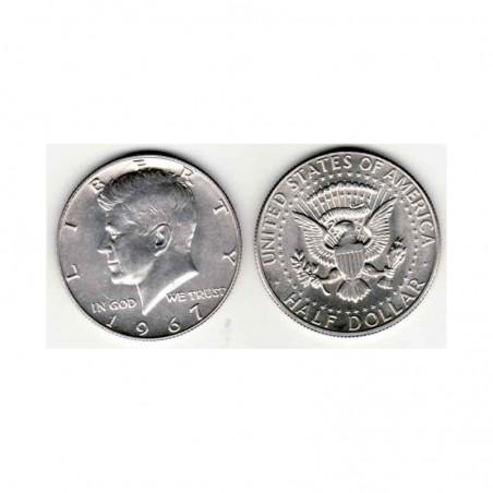 half Dollar Argent USA 1967