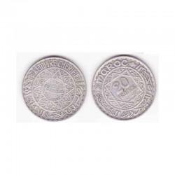 20 Francs Maroc Argent 1352 ( 001)