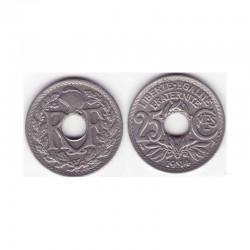 1 piece de 25 centimes 3 iem republique 1914 soulignéé