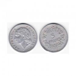 5 Francs Lavrillier 1946 C Alu