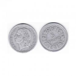5 Francs Lavrillier1952 Alu