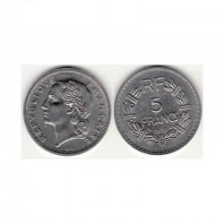 5 Francs Lavrillier 1938 nikel ( 002 )