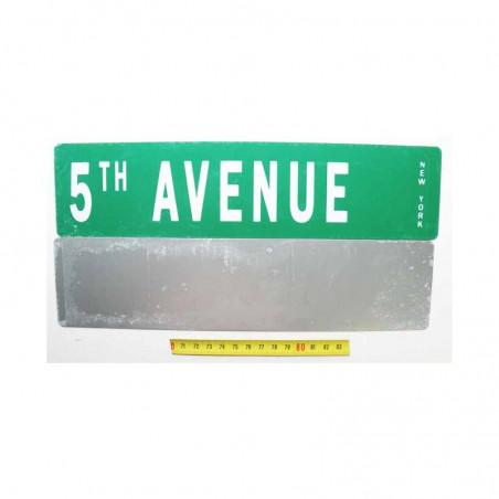 Plaque de rue USA - 5 th Avenue