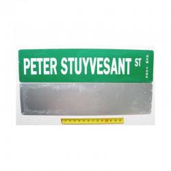 Plaque de rue USA - Peter Stuyvesant street