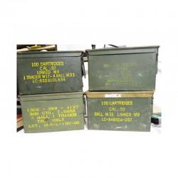 Caisse de Munitions vide US Army Cal 50 Vietnam