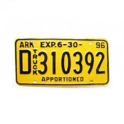 Plaque d Immatriculation USA - Arkansas ( 582 )