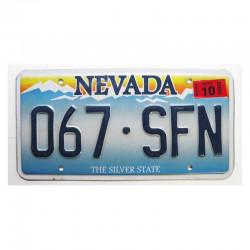 Plaque d Immatriculation USA - Nevada ( 705 )