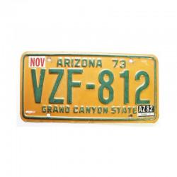 Plaque d Immatriculation USA - Arizona ( 698 )