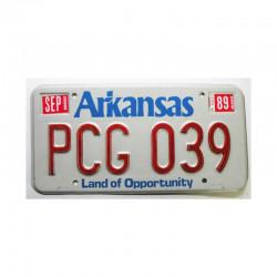 Plaque d Immatriculation USA - Arkansas ( 719 )