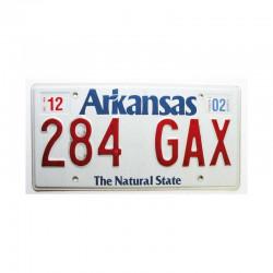 Plaque d Immatriculation USA - Arkansas ( 747 )