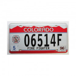 Plaque d Immatriculation USA - Colorado ( 647 )