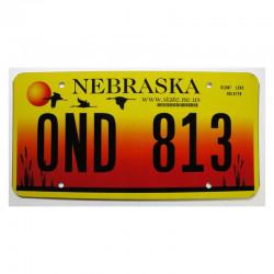 Plaque d Immatriculation USA - Nebraska ( 517 )
