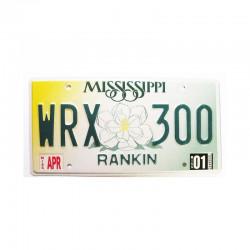 Plaque d Immatriculation USA - Mississippi ( 804 )
