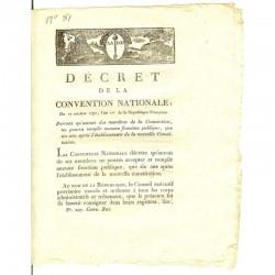 Decret Revolutionaire 1792 ( 039 )