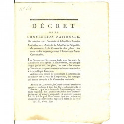 Decret Revolutionaire 1792 ( 040 )